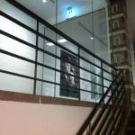 Blick ins Museum vom Treppenhaus aus