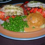 Superb lobster dinner special