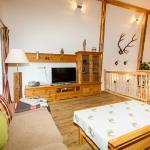 Wohnzimmer FeWo Alpenrose