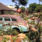 Rustig Car In Garden