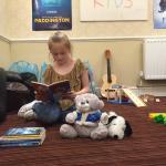 Indoor childrens' play area