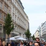 Отель расположен на самой оживленной улице Вены!