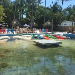 Kayaks, Loungers - Play and Relax
