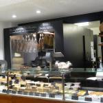 die Käsetheke - viel Auswahl