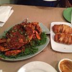Singapore chili crab - yummy!