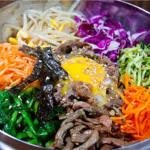 Korean - Bi Bim Bap, combo of hot and cold foods, soft and crunch textures.