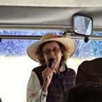Hostess and owner Dona Lupe greeting our tour group