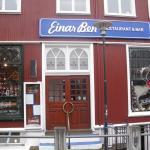 Einar Ben, right in the city center.