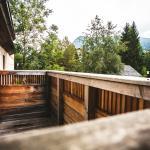 Balkon Saunabereich