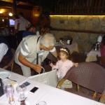 My granddaughter DURU is celebrating my birthday.
