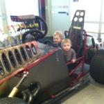 """""""Drag races"""" at Phx Childrens Museum"""