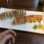 Sushi was great. I recommend the Brother Bill Pop. Service was excellent and friendly.