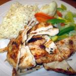 Grilled Chicken w/ mixed veggies & rice