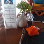 The menu has quite a comprehensive range of meals