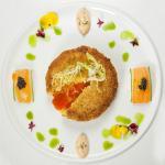 Molten Crab Cake, Umeboshi Aioli