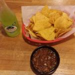 Chips, Salsa, and Jarritos