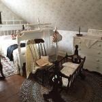 二階にある、モンゴメリの生まれた部屋