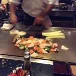 Hibachi veggies