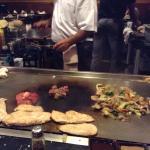 Hibachi meat