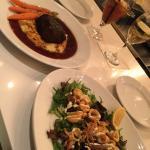 Short Ribs, Calamari & Shrimp