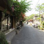 Jalang Kadeng, the lovely street where Gusti is