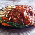 spicy oriental sizzler