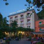 Hotel Conca d'Oro at dusk