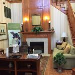 comfy living - lobby area