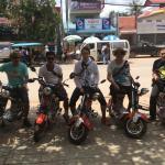 Pear Meng e-bike and Motor rental service. Contact: 012 73 83 23