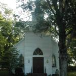 Belle Mina United Methodist Church on the Glory Road Trail