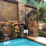 The waterfall & pool