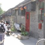 Out the front door, we walk the lane of the hutong