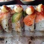 Flaming shrimp