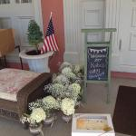 Entrance at The Ocean House - Kate's Baby Shower