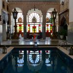 Patio interior del riad Arabesque