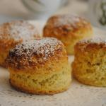 fresh baked scones!!!