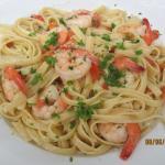 Stars Shrimp Pasta