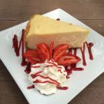 New York Cheesecake, a standard on the Breezy dessert menu!