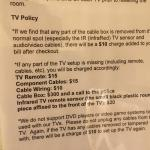 TV policy