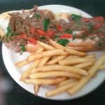 Farm House Cheese Steak with Fries