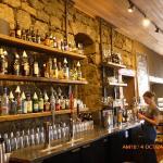 Bar in Lostine Tavern