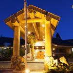 Lodge Entrance Full Moon