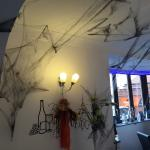 The Coffee House and White Rooms Bistro ready for Halloween