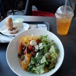 Салат и напиток