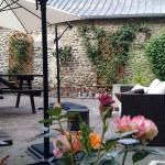 Terrasse très agréable aux beaux jours