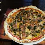 Pizza aux Pleurottes