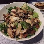 Super big chicken caesar salad!!  Delicious!