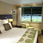 Enjoy a Rugby Pitch View Suite at our hotel