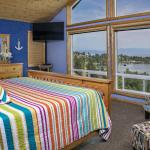 The Lake Room offers spectacular views and luxury amenities!