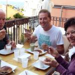 colazione con granita e brioche